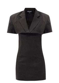 Jacquemus Gardian cropped-blazer mini dress