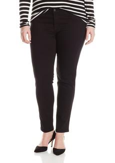James Jeans Women's Plus-Size Leggy Z Faux Front Pocket Legging Jean