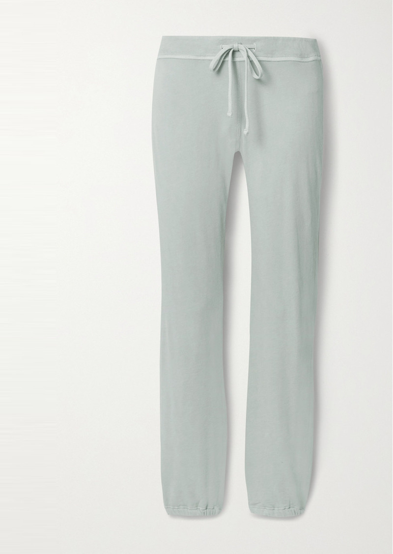 James Perse Genie Supima Cotton-terry Track Pants