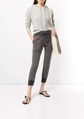 James Perse slim-fit cropped trousers