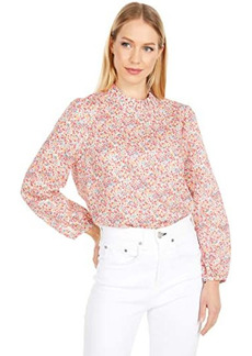 J.Crew Long Sleeve Top in Liberty® Phoebe Floral