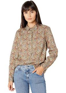 J.Crew Perfect Shirt in Liberty® Lee Manor Paisley Print