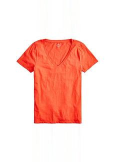 J.Crew Vintage Cotton V-Neck T-Shirt