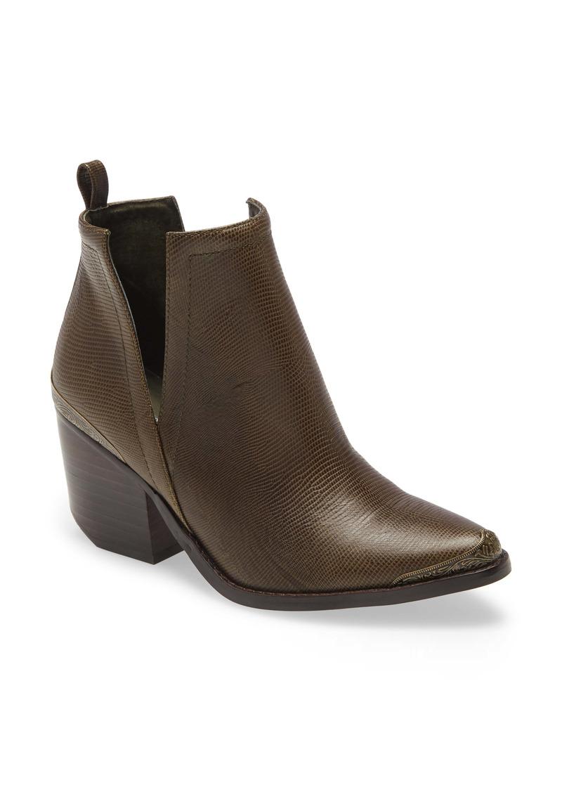 Jeffrey Campbell Cromwell Cutout Western Boot (Women)