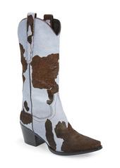 Jeffrey Campbell Dagget Genuine Calf Hair Western Boot (Women)