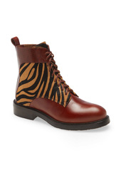 Jeffrey Campbell Fischer Lace-Up Leather Boot (Women)