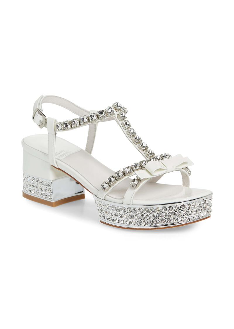 Jeffrey Campbell Riche Crystal Embellished Sandal (Women)