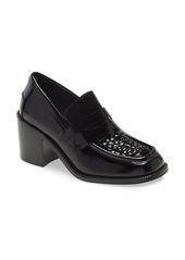 Jeffrey Campbell Sims Block Heel Loafer (Women)