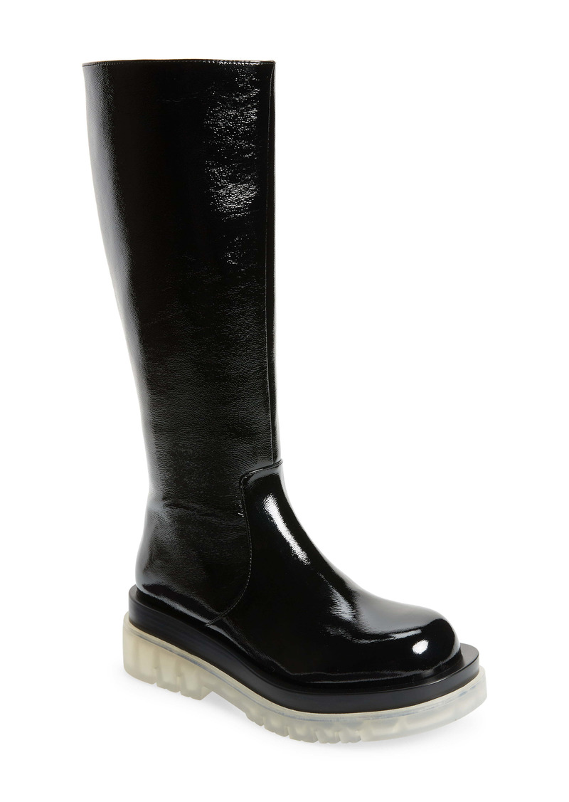 Jeffrey Campbell Tanked Knee High Boot (Women)