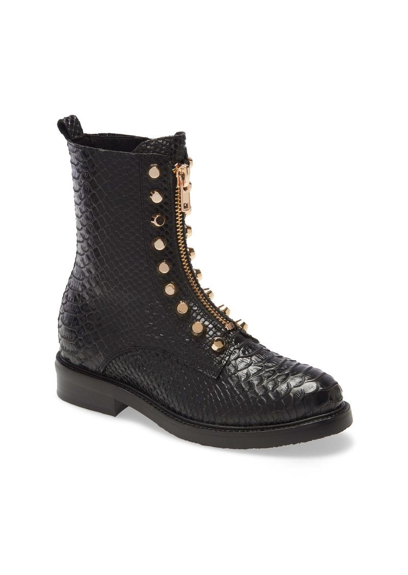 Jeffrey Campbell Tonette Studded Zip Boot (Women)