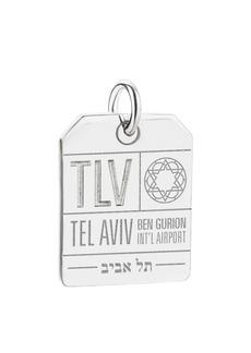 Jet Set Candy TLV Tel Aviv Luggage Tag Charm