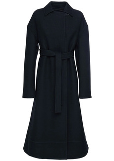 Jil Sander Raw Edge Felt Wool Belted Coat