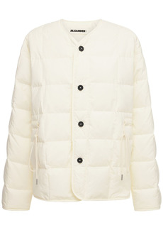 Jil Sander Recycled Nylon Quilted Puffer Jacket