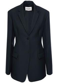 Jil Sander Serge Wool One Breast Jacket