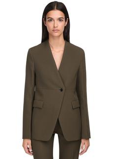 Jil Sander Wool Single Breasted Jacket