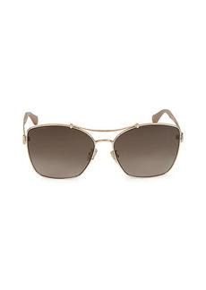 Jimmy Choo 62MM Aviator Sunglasses