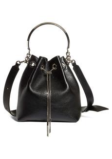 Jimmy Choo Bon Bon Leather Bucket Bag