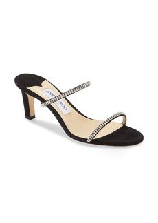 Jimmy Choo Brea Crystal Embellished Slide Sandal (Women)