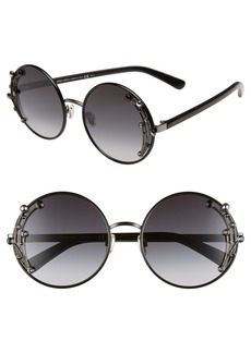Jimmy Choo Gema 59mm Round Sunglasses