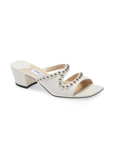 Jimmy Choo Jacci Studded Leather Sandal (Women)