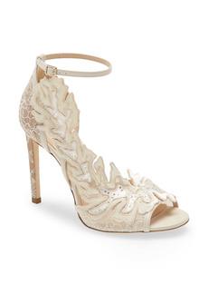 Jimmy Choo Lucele Ankle Strap Sandal (Women)
