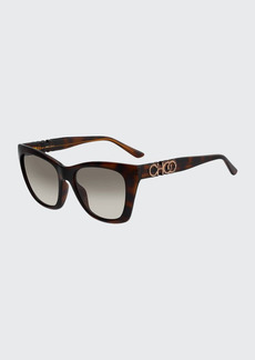Jimmy Choo Rikkigs Square Sunglasses