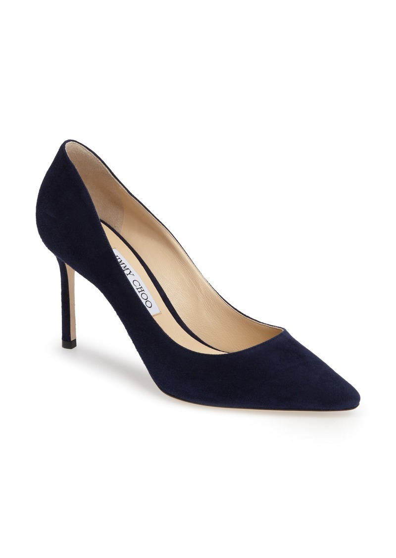 Jimmy Choo Romy Suede Pump (Women)
