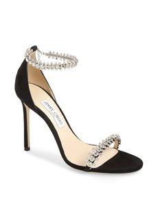 Jimmy Choo Shiloh Jewel Embellished Sandal (Women)