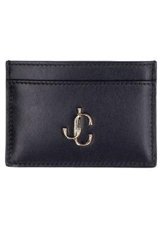 Jimmy Choo Umika Smooth Leather Card Holder