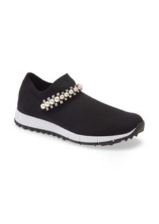 Jimmy Choo Verona Embellished Knit Sneaker (Women)