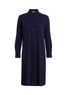 Joan Vass Longline Shift Shirtdress