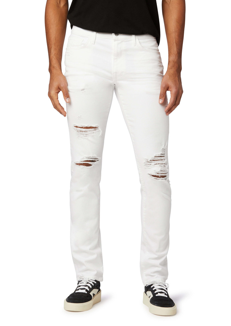 Joe's Jeans Joe's The Asher Ripped Slim Fit Jeans (Pallid)