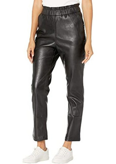 Joe's Jeans The Faux Leather Paperbag Pants