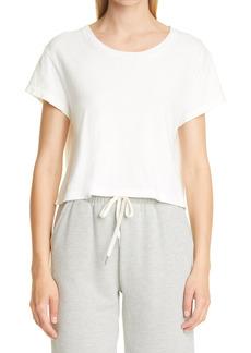 Women's John Elliott Cotton Crop T-Shirt