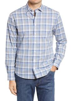 johnnie-O Dylan Plaid Button-Up Shirt