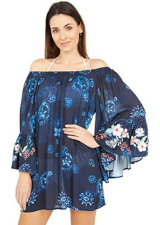 Johnny Was Annia Off-the-Shoulder Cover-Up