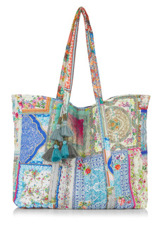 Johnny Was Annika Quilted Tote
