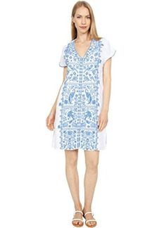 Johnny Was Harriet Button-Down Tunic Dress