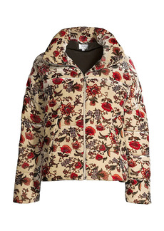 Johnny Was Helena Floral Puffer