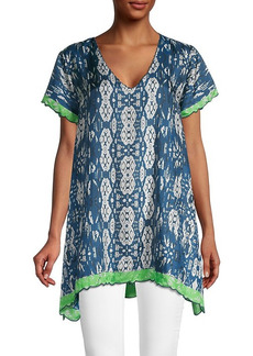 Johnny Was Puente Silk Tunic