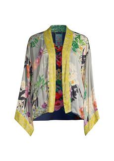 Johnny Was Rebecca Reversible Floral Kimono