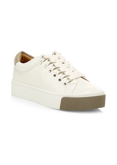 Joie Handan Leather Platform Sneakers