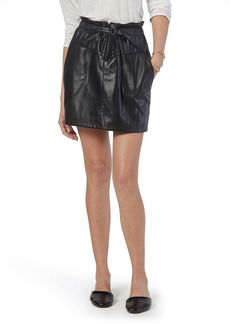 Joie Winona Faux Leather Skirt