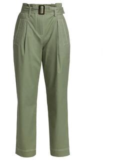 Jonathan Simkhai Belted Utility Trench Pants