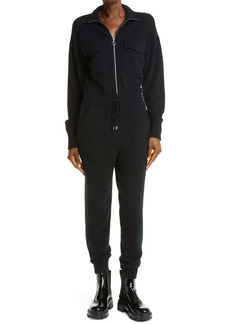 Jonathan Simkhai Long Sleeve Knit Flight Suit