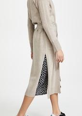 Jonathan Simkhai Nikita Loungewear Knit Shawl Cardigan Robe