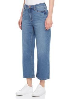 Jones New York Lexington Wide Leg Crop Jeans (Dreamer)