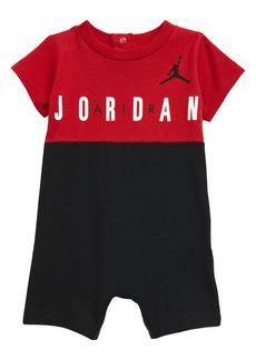 Jordan Big Block Romper (Baby)