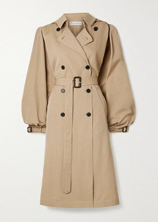 JW Anderson Cape-effect Wool-gabardine Trench Coat