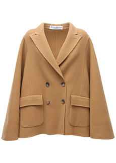 JW Anderson Double Face Wool Coat
